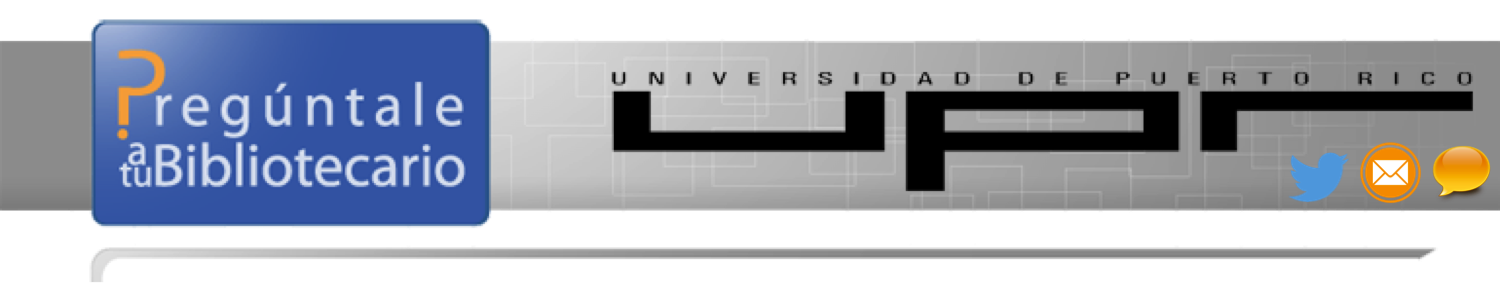 University of Puerto Rico at Carolina: Referencia Virtual Universidad de Puerto Rico banner