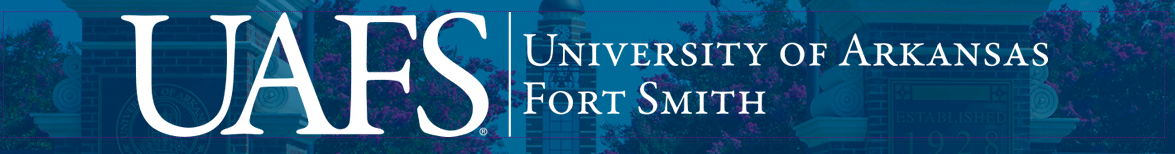 University of Arkansas – Fort Smith:  banner