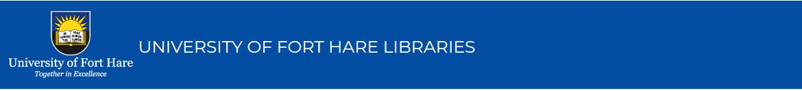 University of Fort Hare: Ask a Librarian banner