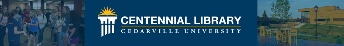 Cedarville University: LibAnswers banner