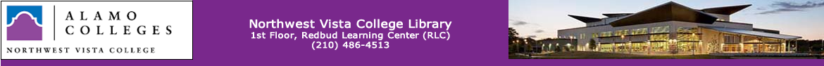 Northwest Vista College Library: LibAnswers banner