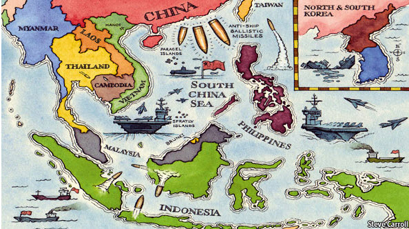 South China Sea Illustration