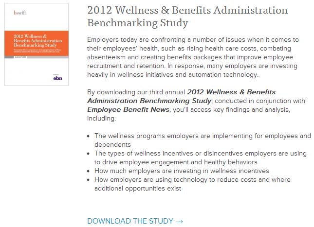 Wellness Benchmarking Study