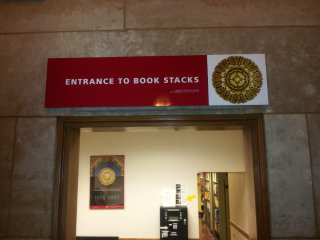 bookstacks entrance