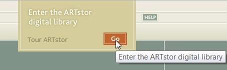 screen shot from Artstor