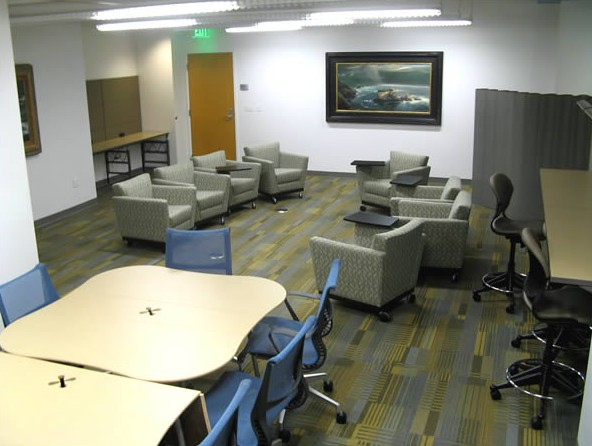 faculty reading room