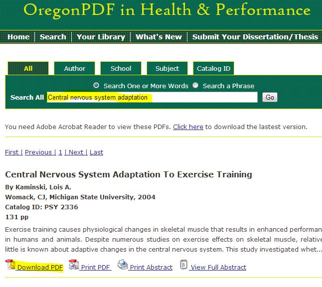 screenshot from Oregon PDF