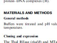 "part of a journal article with ""Materials and Methods"""