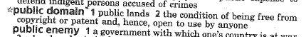public domain defined