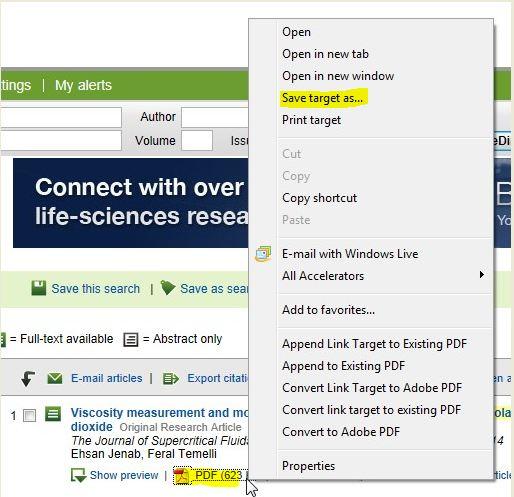 screenshot from ScienceDirect