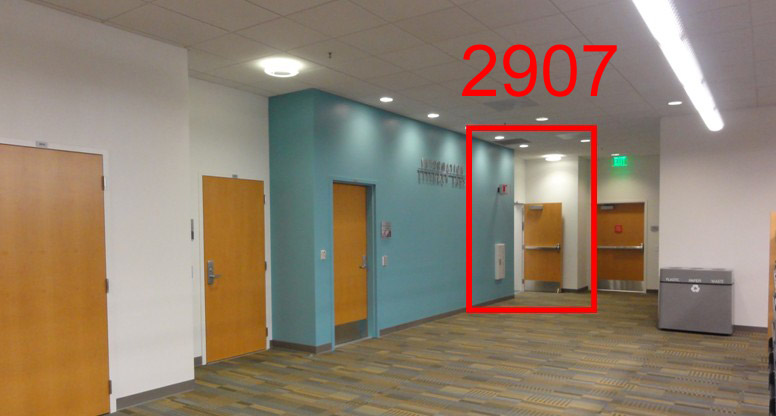 Photo Showing the location of Room 2907