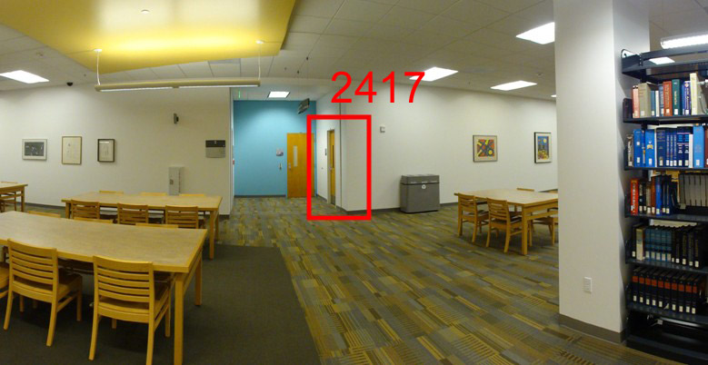 Photo Showing the location of Room 2417