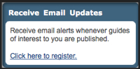 Screenshot - Receive Email Updates