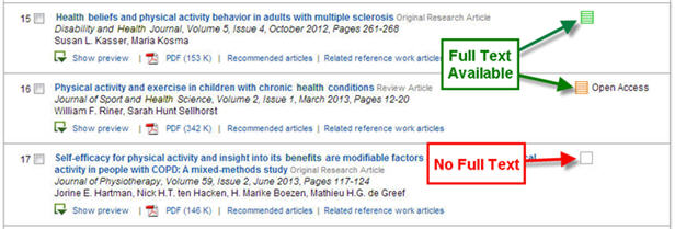 ScienceDirect Results