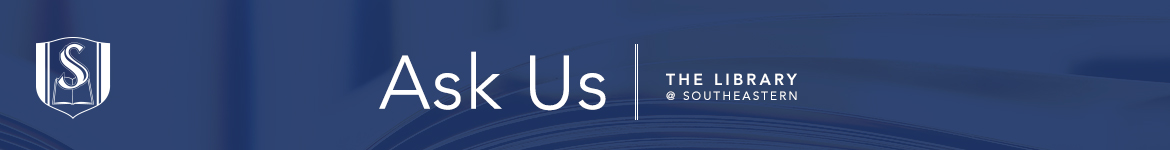 Southeastern Baptist Theological Seminary: AskUs banner