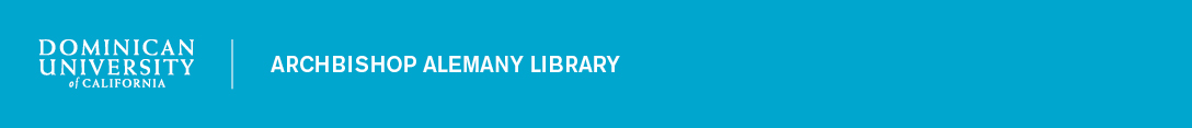 Dominican University of California: Ask the Library banner