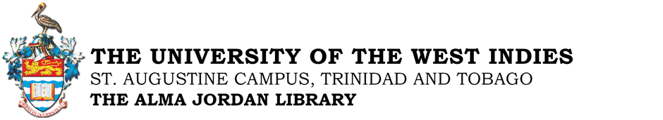 The University of the West Indies, St. Augustine Campus: Ask a Librarian banner