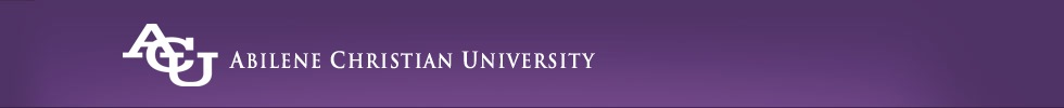 Abilene Christian University: Ask A Libraran banner