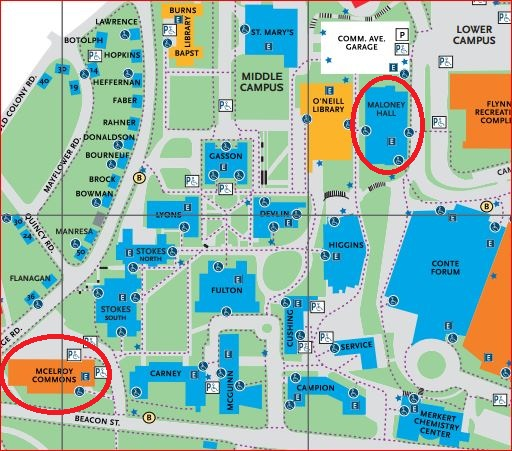boston college chestnut hill map What Are The Bookstore Locations And Hours Library Faqs boston college chestnut hill map