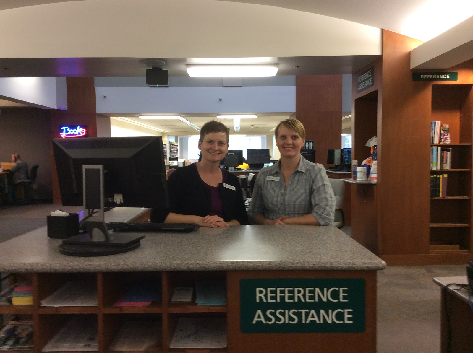 reference staff ready to help