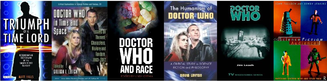 Doctor Who Book Covers