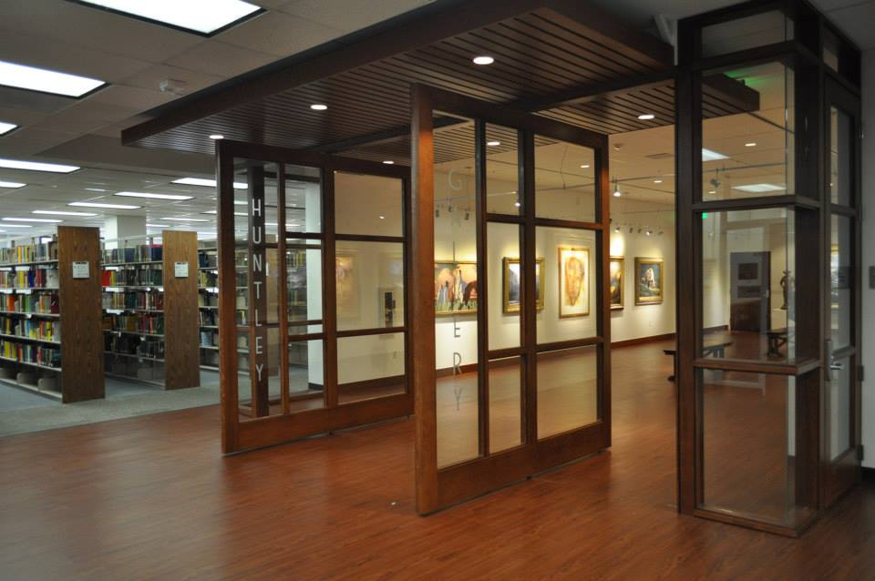 huntley gallery entrance