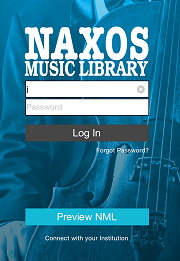 Naxos Music Library Android login