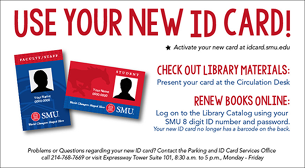Use your new ID card