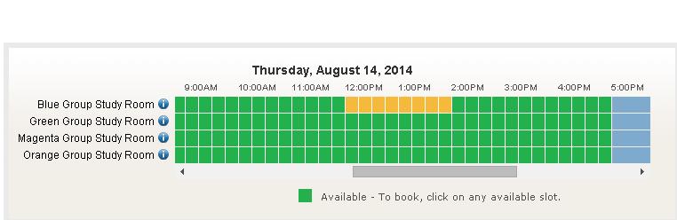 LibCal Screenshot