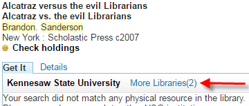 "Click ""More Libraries"""
