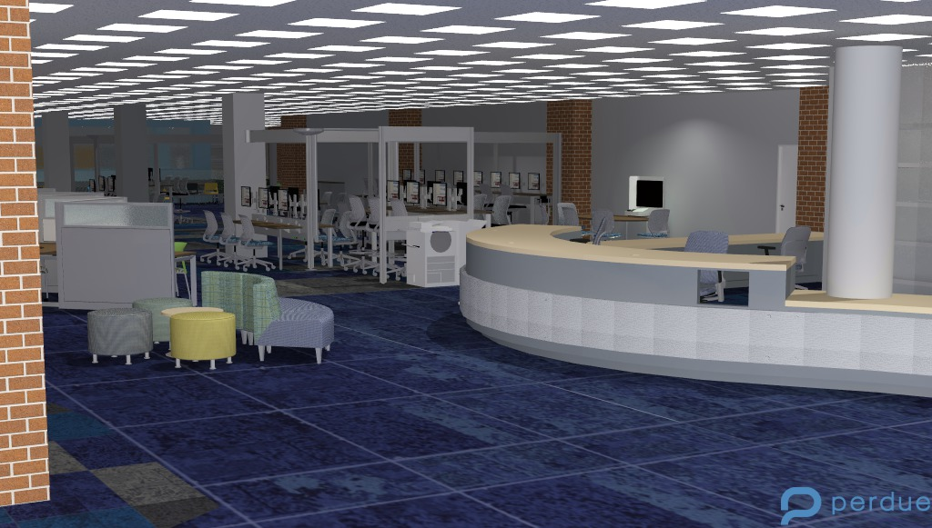 Library Commons - first floor